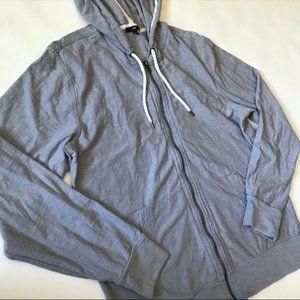 🌵 Gap Gray Zip Up Hoodie Sweatshirt Large